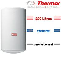 Chauffe eau stéatite 200 litres mural thermor THERMOR-281042 de Thermor